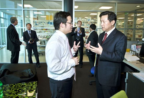 MWC hosts Chinese regional leaders